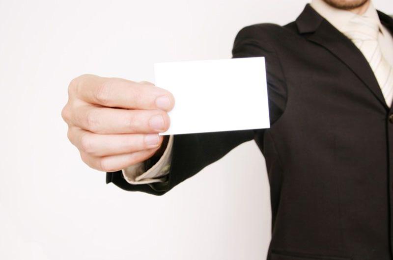 4 points à suivre pour la conception d'une carte de visite professionnelle